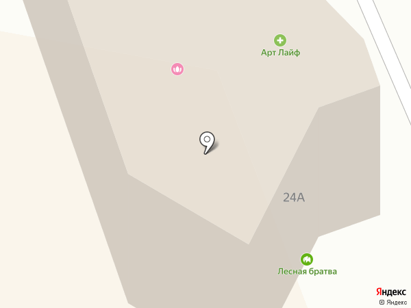 Лесная братва на карте Нижнего Тагила