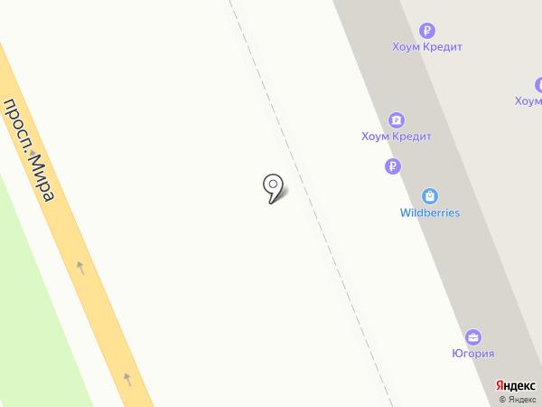 Банк Хоум Кредит на карте Нижнего Тагила