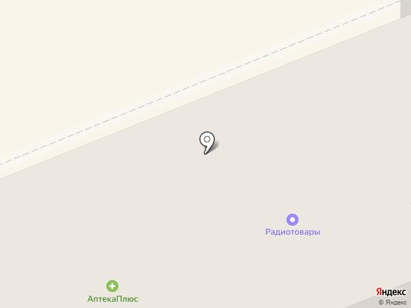 Магазин радиотоваров на карте Нижнего Тагила