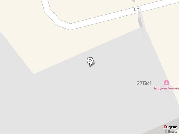 Тёщина банька на карте Нижнего Тагила