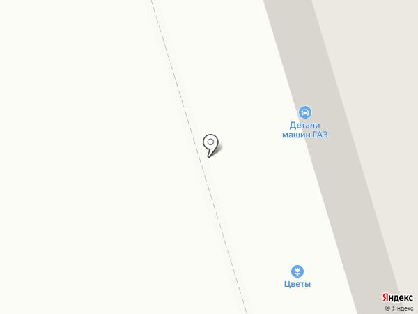 Цветочный салон на карте Нижнего Тагила