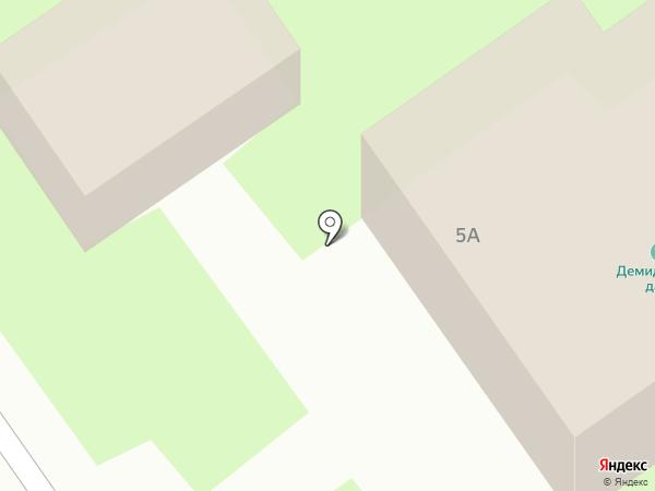 Демидовская дача на карте Нижнего Тагила