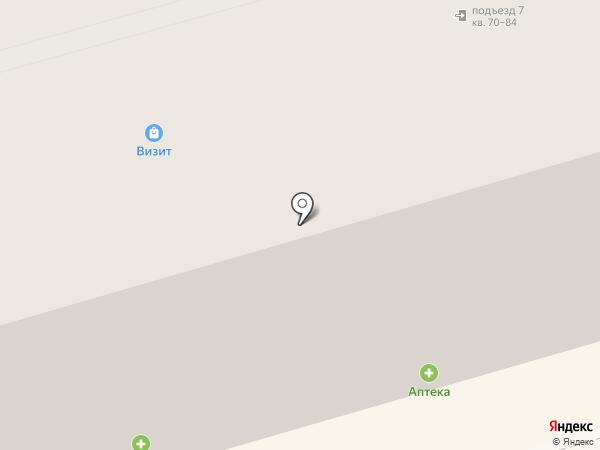 Вечерний на карте Нижнего Тагила