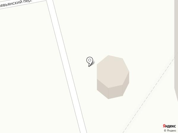 Киоск по продаже питьевой воды на карте Нижнего Тагила