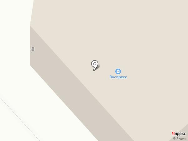 Пайер на карте Нижнего Тагила