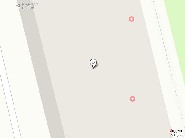 Поликлиника №2 на карте Нижнего Тагила