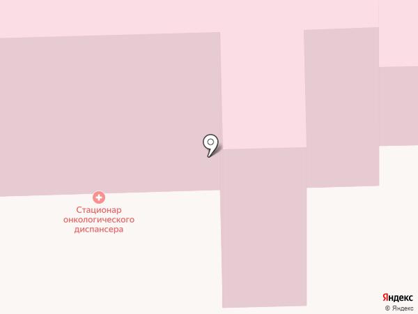 Свердловский областной онкологический диспансер на карте Нижнего Тагила