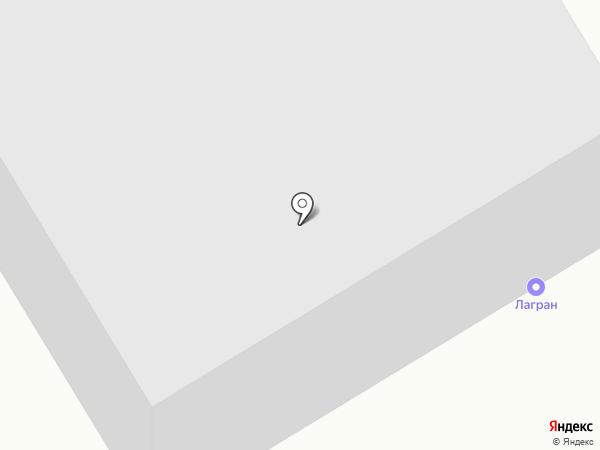 ЛагранНТ на карте Нижнего Тагила