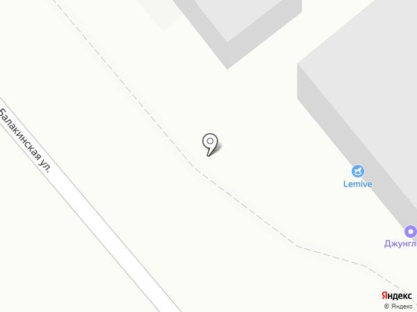 БАМБУКИ на карте Нижнего Тагила