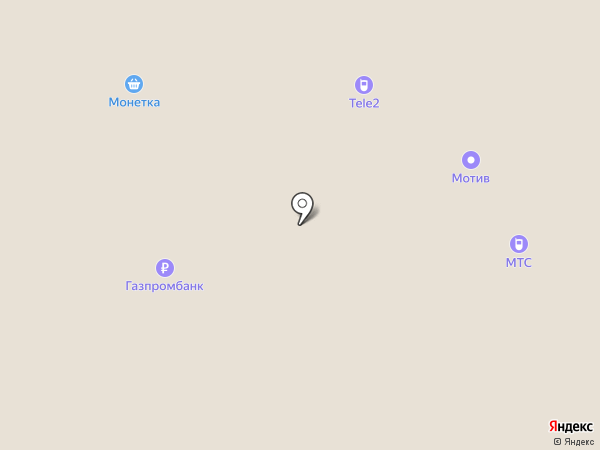 Мотив на карте Нижнего Тагила
