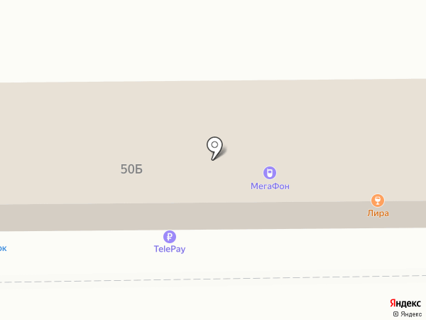 ЮГ на карте Нижнего Тагила