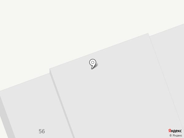 Мотодор на карте Нижнего Тагила