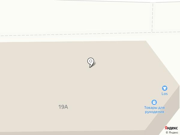 Сеть продуктовых магазинов на карте Нижнего Тагила
