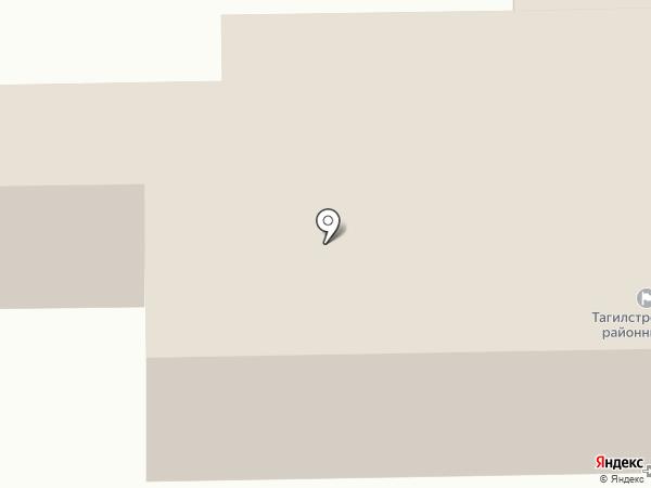 Тагилстроевский районный суд на карте Нижнего Тагила