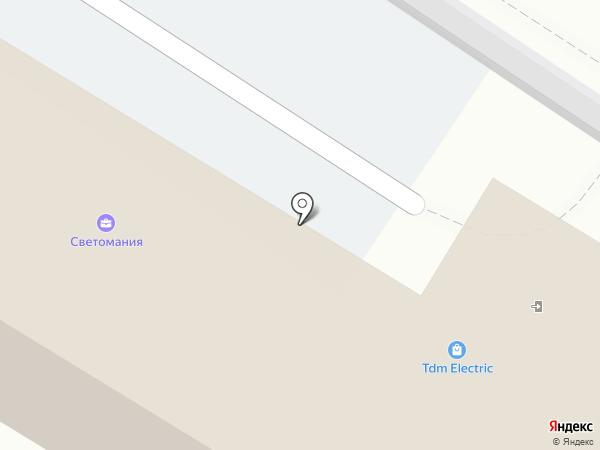 Светомания на карте Нижнего Тагила