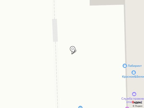 Служба правовых отношений на карте Нижнего Тагила