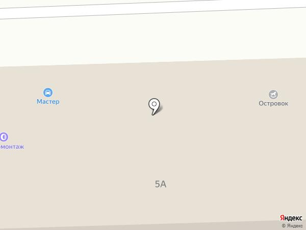 Островок на карте Нижнего Тагила