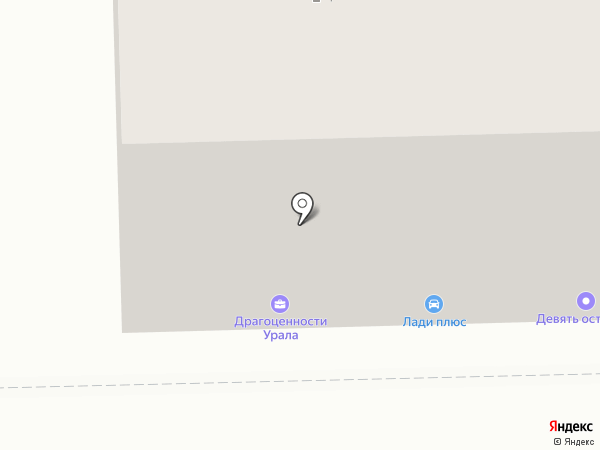 Драгоценности Урала на карте Нижнего Тагила