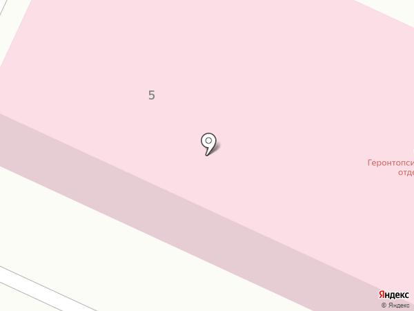 Психиатрическая больница №7 на карте Нижнего Тагила