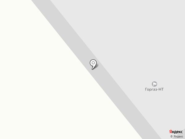 Сауна на Индустриальной на карте Нижнего Тагила