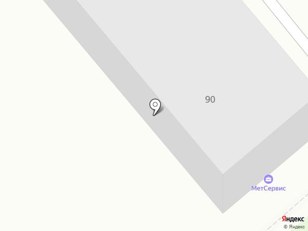 МетСервис на карте Нижнего Тагила