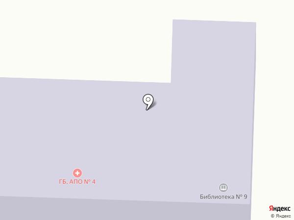 Медицинский пункт на карте Первоуральска