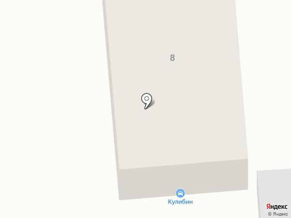 Гаражъ на карте Нижнего Тагила