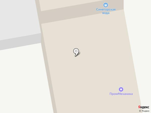 Проммеханика на карте Нижнего Тагила