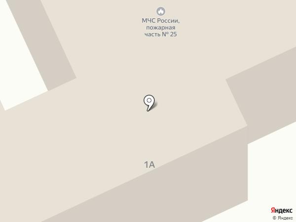 Пожарно-спасательная часть №25 на карте Нижнего Тагила