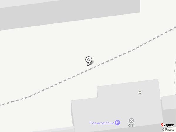 Уралкриомаш на карте Нижнего Тагила