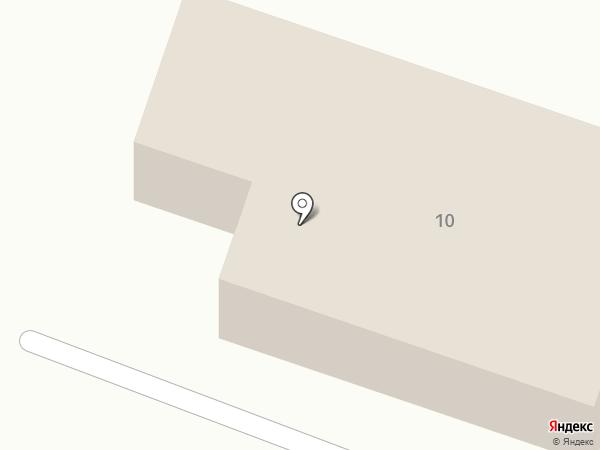 Универсам на карте Миасса