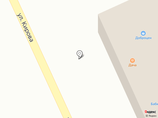 Дача на карте Миасса