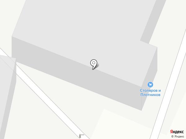 Нижнетагильская мебельная фабрика на карте Нижнего Тагила