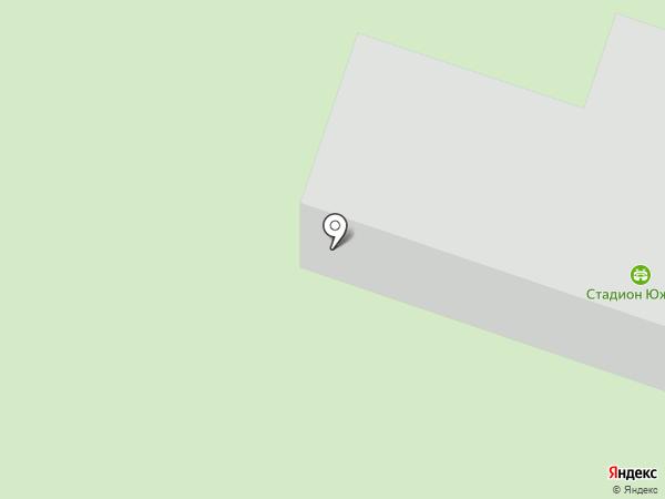 Южный на карте Миасса