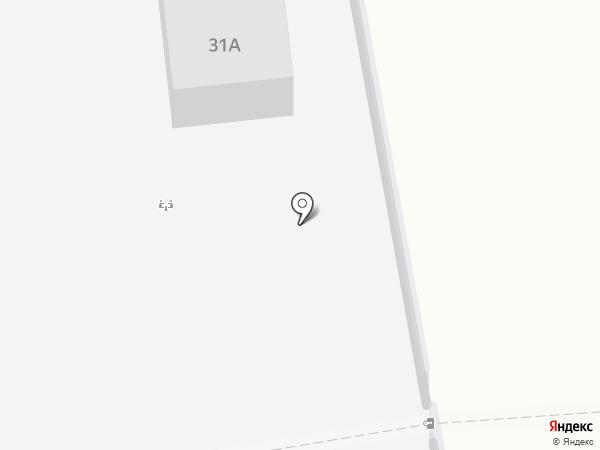 Автостоянка на Алтайской на карте Нижнего Тагила