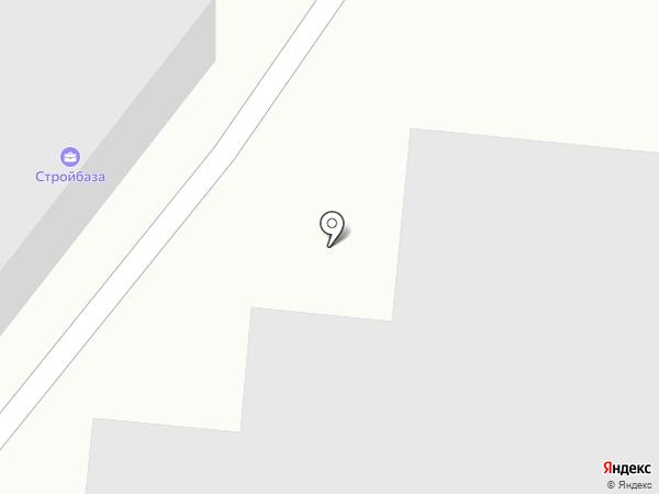 СТРОЙБАЗА на карте Миасса