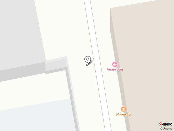 Авангард на карте Нижнего Тагила