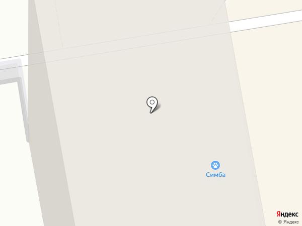 Симба на карте Нижнего Тагила