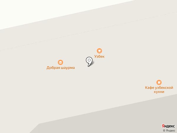 Общепит на карте Нижнего Тагила