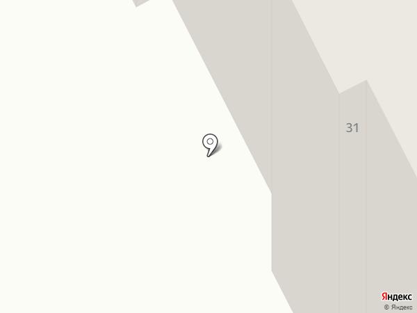 Трек на карте Миасса