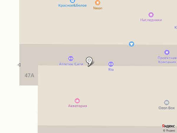 Aquarela на карте Миасса