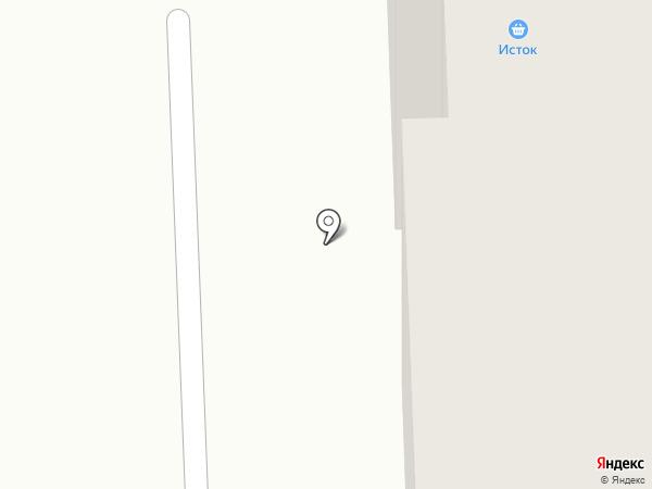 Сеть продовольственных магазинов на карте Миасса