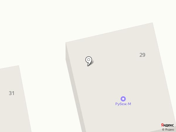 Фавор на карте Миасса