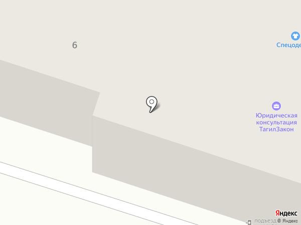 Deringer на карте Нижнего Тагила