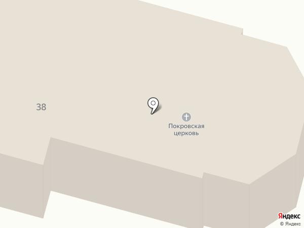 Покровский на карте Миасса
