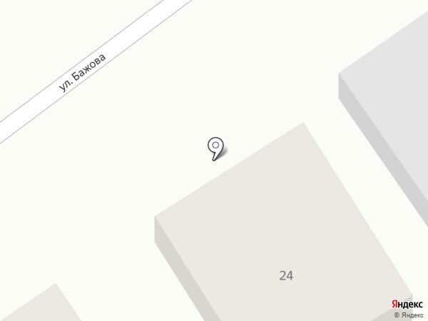 Шпулька на карте Миасса