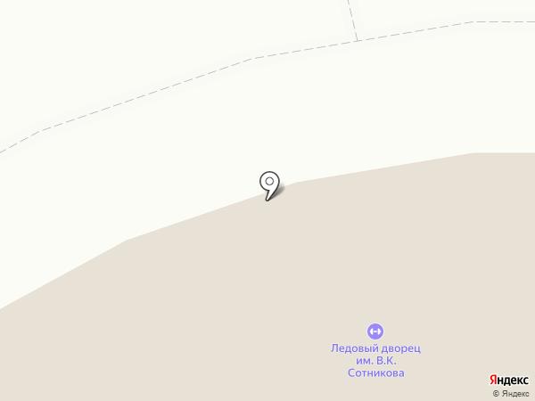 Дворец ледового спорта им. В.К. Сотникова на карте Нижнего Тагила