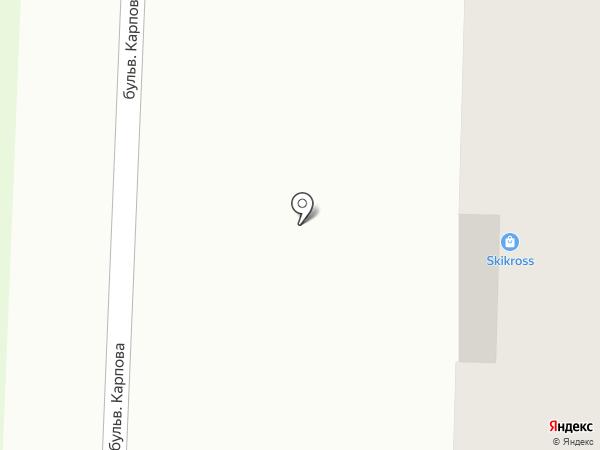 Skikross на карте Миасса
