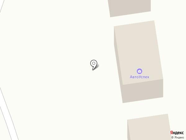 Авто Успех на карте Миасса
