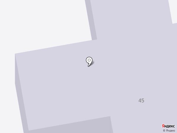 Детский сад №204 на карте Нижнего Тагила